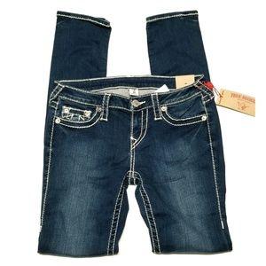 True Religion - Stella Skinny Big T Jean